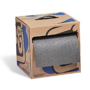 PIG® Absorbent Mat Roll in Dispenser Box, New Pig