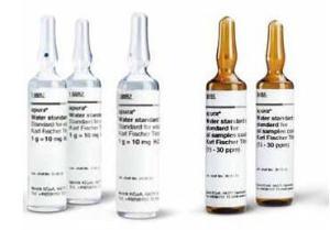 Aquastar™ Water Standards for Karl Fischer Titration, MilliporeSigma