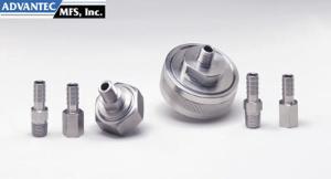 Stainless Steel Gas Line Filter Holders, Advantec MFS