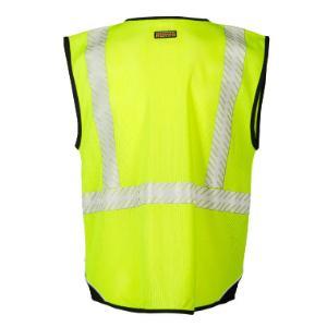 Flame Resistant Premium Black Series Mesh Vest, ML Kishigo