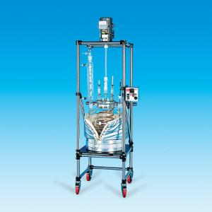 Unjacketed, Spherical Pilot Plant Reactor System, 200 L, Ace Glass Incorporated