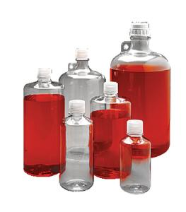 Nalgene® Laboratory Bottles, Polycarbonate, Narrow Mouth, Thermo Scientific