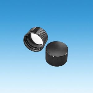 Screw Caps, Black Plastic, Ace Glass Incorporated