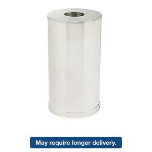 Rubbermaid® Commercial European and Metallic Series Waste Receptacle with Large Side Opening