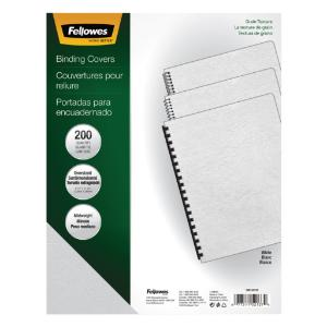 Fellowes® Expression™ Classic Grain Texture Presentation Covers for Binding Systems