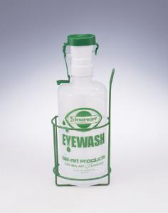 SCIENCEWARE® Poxygrid® Eye Wash Bottle Wall Rack, Bel-Art