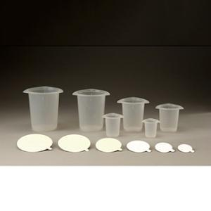 Tri-Pour Beakers and Paper Lids