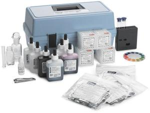 Model AL-36B Acidity, Alkalinity, Carbon Dioxide, Dissolved Oxygen, Hardness, and pH Test Kit, Hach