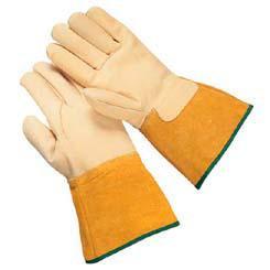 Kevlar Grain Cowhide Welder's Gloves Wells Lamont