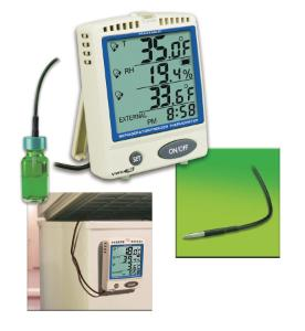 VWR® Traceable® Memory-Card Refrigerator/Freezer Thermometer