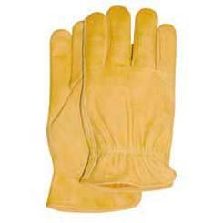 Grain Cowhide Driver Gloves Wells Lamont
