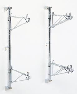 Super Erecta Shelf® Post-Type and Direct Wall Shelf Mounts, Metro™