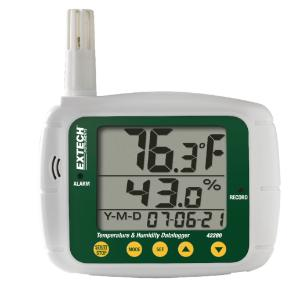 Model 42280 Humidity and Temperature Datalogger, Extech