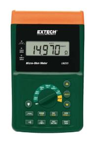 High Resolution Micro-Ohm Meter, Extech