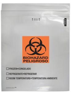 SPECI-CIP® Reclosable Specimen Bags, Minigrip