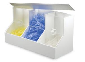 Dispensing Bins, PVC/Acrylic, TrippNT