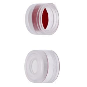 Cap push 8 mm sil/PTFE trn