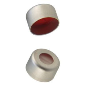 Cap crimp 8 mm sil/PTFE preslit