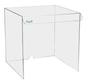 Equipment Draft Shields, Clear Acrylic, TrippNT
