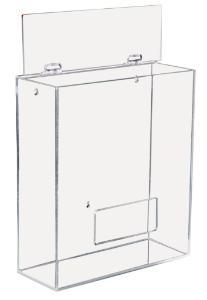 Apparel/Hairnet Dispensers, Acrylic, TrippNT