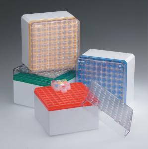 Cryostore™ Storage Boxes for Cryogenic Vials, Simport Scientific