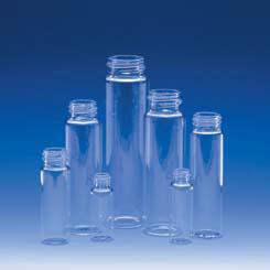 E-C Sample Vials, Glass, Wheaton