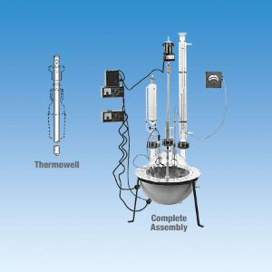 Spherical Flask Reaction System, 72L, Ace Glass Incorporated