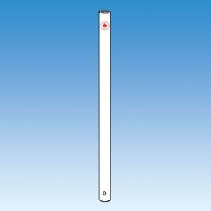 Covered Stainless Steel Stirrer Shaft, PTFE, 19mm, Ace Glass Incorporated