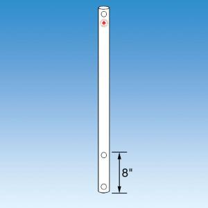 Heavy Duty Polished Glass Stirrer Shaft, 28mm, Ace Glass Incorporated