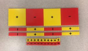 Algebra Tiles, Yellow