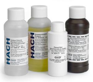 Sodium Chloride Standard Solution, 491 mg/L NaCl (1000 µS/cm), 100 mL, Hach