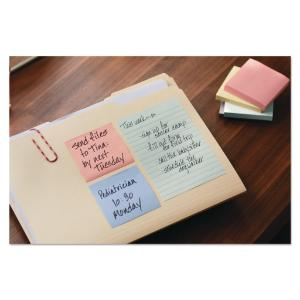 Post-it® Greener Notes Original Recycled Note Pads