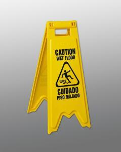 Wet Floor Sign, Vileda Professional-FHP