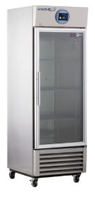 VWR® Performance Glass and Solid Door Stainless Steel Laboratory Refrigerators with Natural Refrigerants
