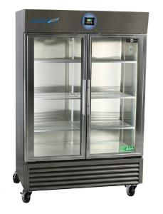 VWR® Series Glass and Solid Door Stainless Steel Laboratory Refrigerators with Natural Refrigerants