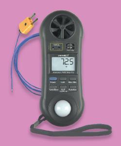 VWR® Enviro-Meter™ Digital Anemometer/Hygrometer/Light Meter/Thermometer