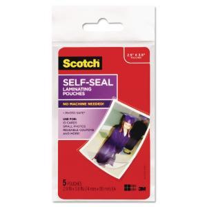 Scotch® Self-Sealing Laminating Pouches