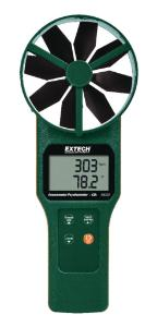 Large Vane Thermo-Anemometer Series, Extech