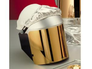Clear Gold Heat Reflective Face-Fit Faceshield