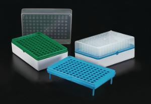 Simport Biotube T100-25 Polypropylene Strips of 8 Tubes Case of 600 Non Sterile without Writing Surface