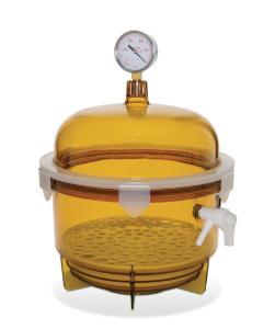 SCIENCEWARE® Lab Companion™ Round Vacuum Desiccators, Bel-Art