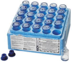 Ozone AccuVac® Ampules, HR, Hach