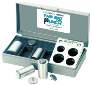 TruPunch® Punch and Die Sets, English Measurements, with Plastic Case, Precision Brand