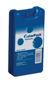 PolarPack® Hard Gel Packs, Rigid Bottle Refrigerant Gel Packs, Sonoco ThermoSafe