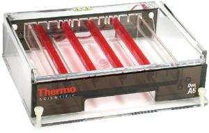 Owl™ Wide-Format Horizontal Electrophoresis System, Model A6,Thermo Scientific