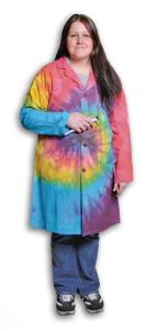 Large United Scientific Supplies United Scientific LBCTLG Tie Dye Lab Coats
