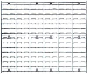 Wire Louvered Panels, Quantum Storage Systems