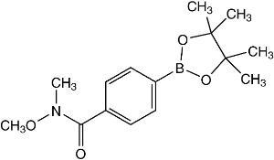 4-(N,O-Dimethylhydroxylaminocarbonyl)benzeneboronic acid pinacol ester ≥97%