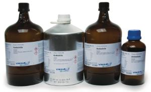 Acetonitrile, anhydrous (max. 0.003% H₂O) ≥99.9%, HiPerSolv CHROMANORM®, super gradient grade for HPLC, VWR Chemicals BDH®