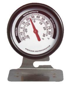 VWR® Metal Refrigerator/Freezer Thermometer